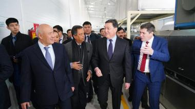 Economy of simple things: Askar Mamin launches production of textiles and food in Shymkent and Turkistan region